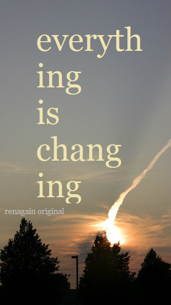 is change
