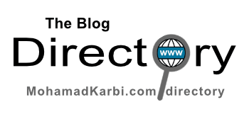 """""""The Blog Directory"""" MohamadKarbi.com/directory"""